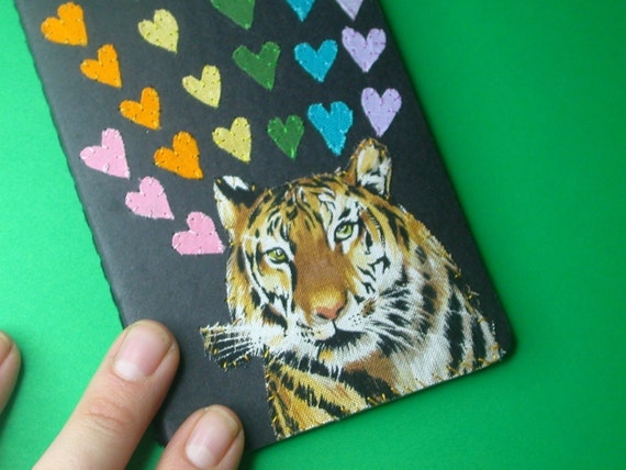 ferocious tiger pocket journal