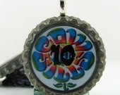 COWGIRLJEWELS - - - - Bottle Cap Pendant - The Cowsills - 10th Anniversary Bash Pendant