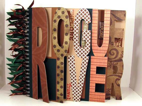 Reserved Listing for Ruykia - Custom Destination Scrapbook Photo Album - XLarge Double Word Album 9 letters