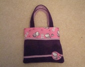 Fuzzy Hello Kitty Bag