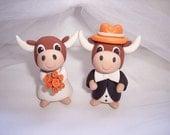 Texas Longhorns Wedding Cake Topper