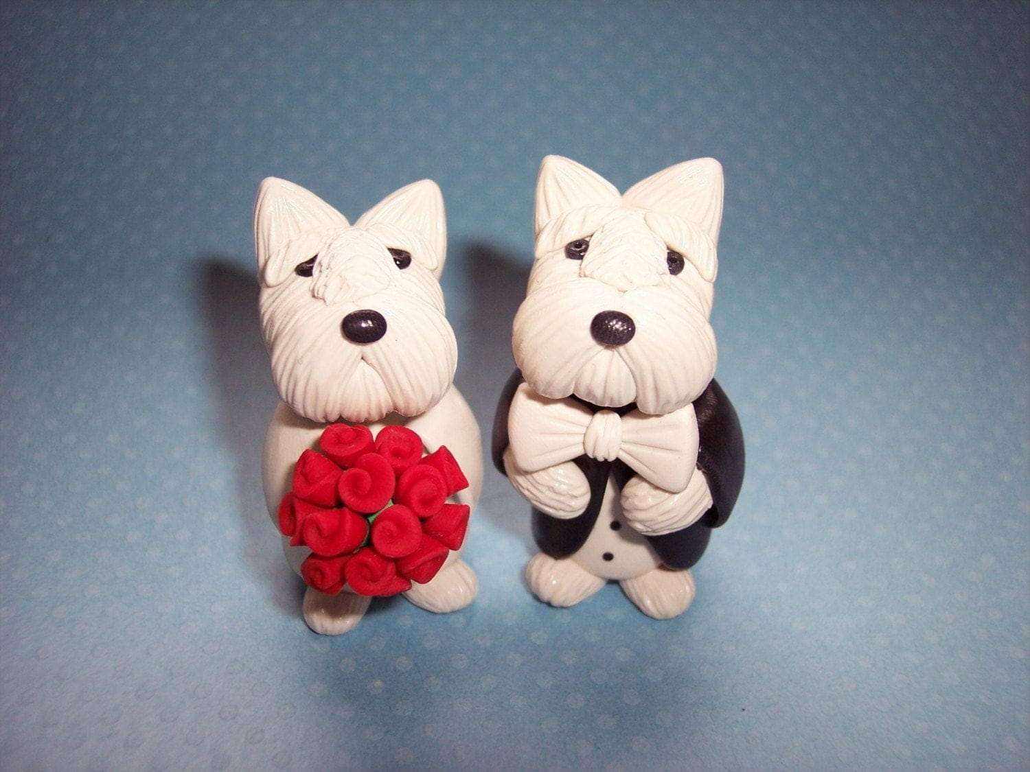 wedding cake toppers with dog uk westie wedding cake topper 26632