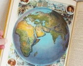 1885 - Barne's Complete Geography - Edition for New York - American Book Company - Gorgeous Atlas