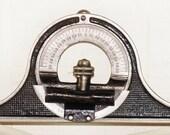RESERVED - Antique Protractor - Mantle Clock Inclinometer - Level - Patent 1883 - Tool Collector - Antique Carpenter Tool