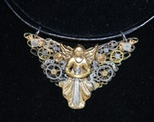 Clockwork Angel Pendant inspired by the writings of Author Cassandra Clare