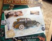 Interactive Art Workshop Mixed Media Book