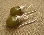 Green Olive earrings