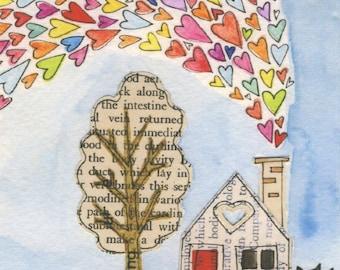 A Tiny Life No.3 - Lil Art Card