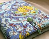 Macbook sleeve in temple tulips print - fits 13 inch model