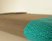LAPTOP SLEEVE in Beatnik Teal - custom made for any size