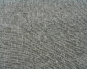 Tan Color Organic Cotton Oasis Canvas Fabric by Marcus Brothers 1-1/8 Yard -LAST PIECE-