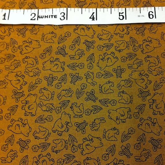 SALE Little Golden Books Fabric 1 Yard CUTS