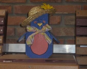 Bluebird of Happiness Patio Pal