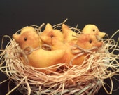 Prim Baby Ducks Set of 5
