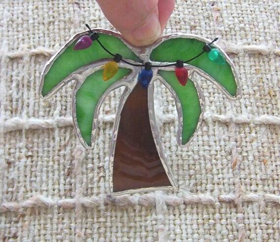 Palm Christmas Tree Corona Christmas Ornament Tropical