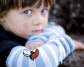 SPARROW Stripes - KOOL KID Arm / Leg Warmers for Baby, Toddler, Child, Tween Boy or Girl - Fun and Functional Fashion