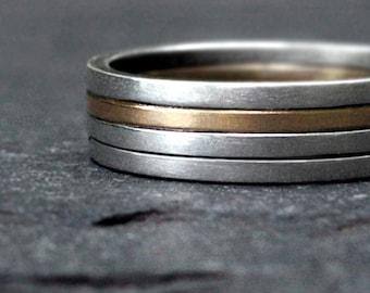 4 stripes ring