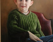 Commission an original custom oil portrait by Kimberly Dow