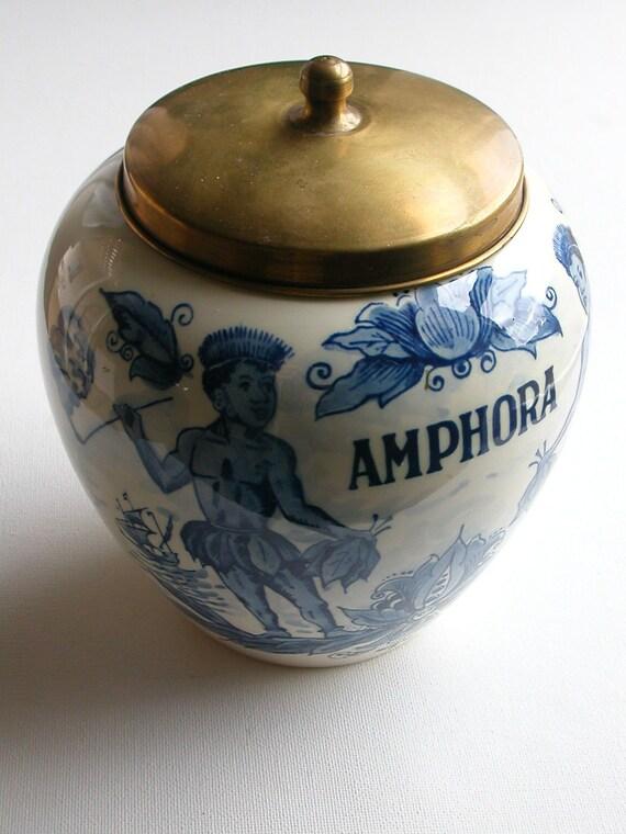 Delft Blue Holland AMPHORA