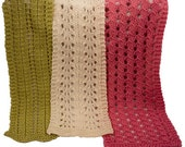 Barbara Ruth & Leona Easy Lace Scarves - Knitting Pattern PDF
