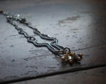 Delicate Chain Bracelet - Metal Bracelet - Charm Cluster - Mother's Day Gift - Boho Bracelet- Jewelry For Bride- Bridal Bracelet - Gift Wife