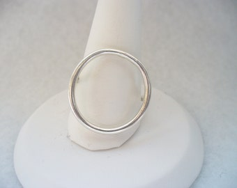 Sterling Silver O Ring