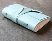 Leather Lambskin Journal or Sketchbook