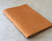 Caramel Brown Leather Notebook - Chapbook
