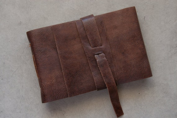 Small Brown Leather Journal