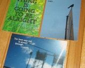 Postcard set 1 - reminders - includes 3 cards