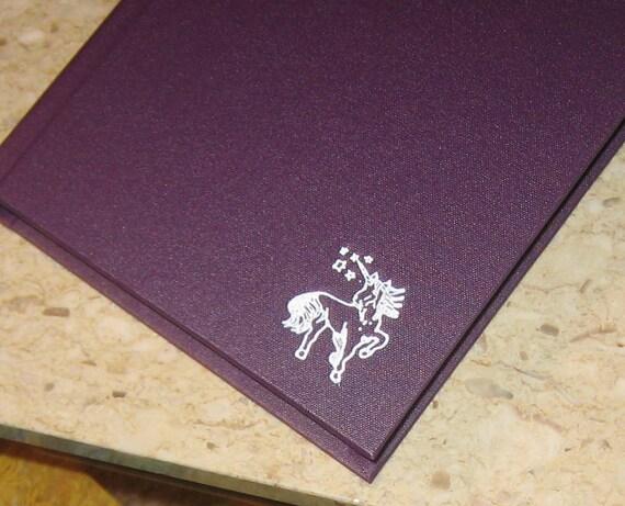 unicorn blank book