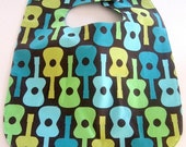 Groovy Guitar Soak Proof Baby/Toddler Boutique Bib