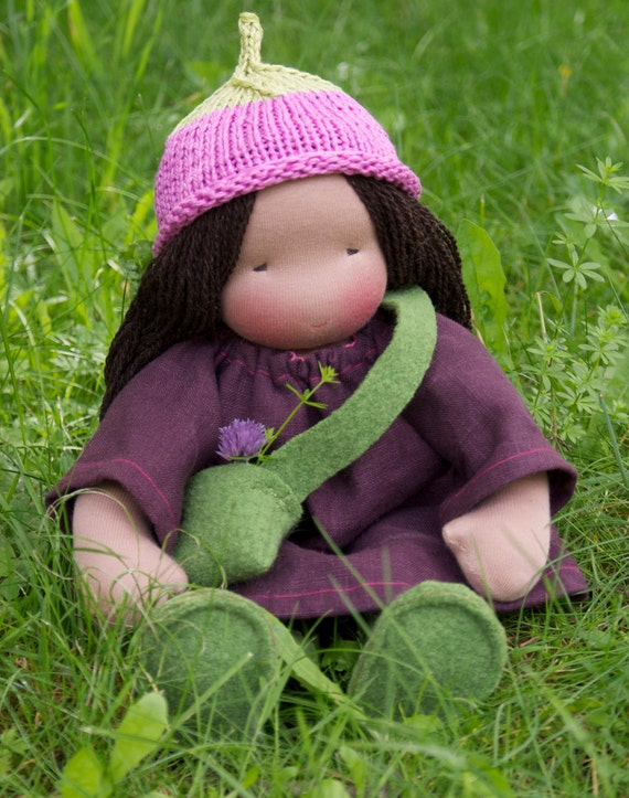 Second installment for Custom made personal 16 inch Companion Doll according to waldorf pedagogy reserved for Cristina