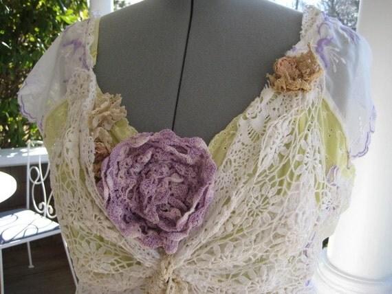 Vintage Lace Garden Party Dress SALE