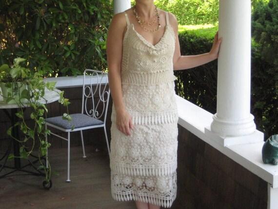 Flapper Girl Layered Lace Garden Dress