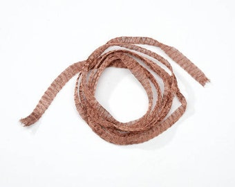 Imported from Italy Artistic Mesh Wire Lovely Chestnut Color