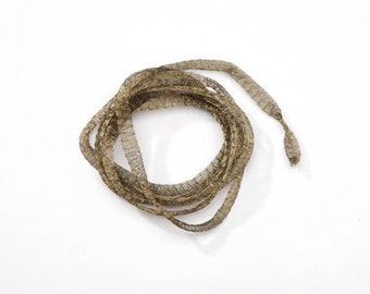 Imported from Italy Mesh Wire Lovely Khaki Color, Mesh wire, Jewelry supplies