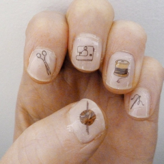 craft nail transfers