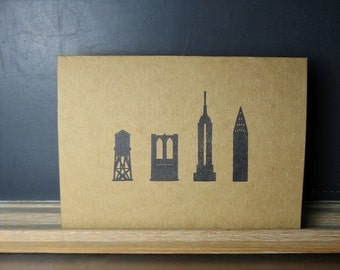 NY Landmark Greeting Card