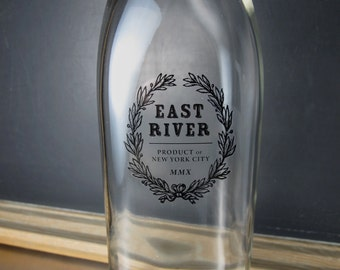 East River Water Bottle