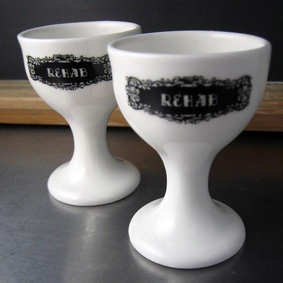 2 Custom Eggcups