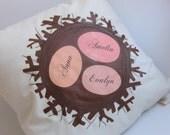 Nest Pillow for Family, Kids, Grandkids