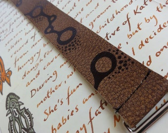 Eco Friendly, Leather Molecule Bracelet