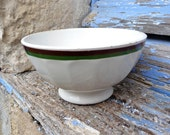 1900s /1930 French Cafe au lait bowl  small size