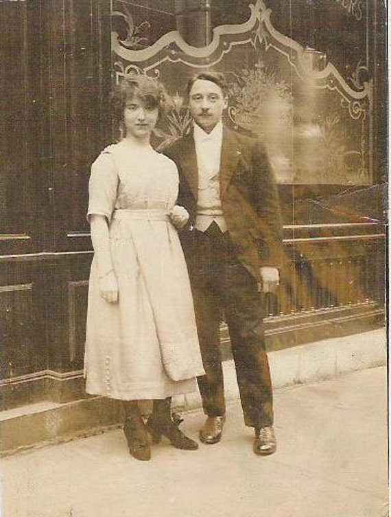 Reserverd To Lillillow Dated 1900s 1910s French Sepia Color