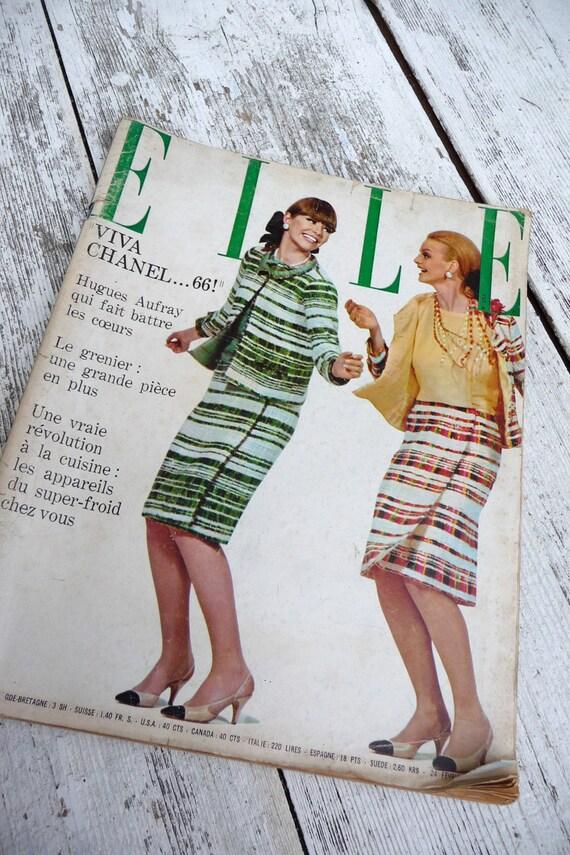 Elle 1966  French Fashion Issue