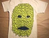 Slime Face - on natural size medium