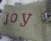 Burlap Joy Pillowette