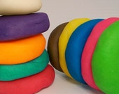 WHEAT AND GLUTEN FREE Playdough 4 - 8 oz. Container - You Pick Color