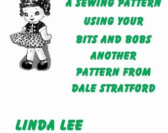 Linda Lee Doll, Soft Toy, Sewing Pattern, (PDF) Pattern, Dale Stratford 14